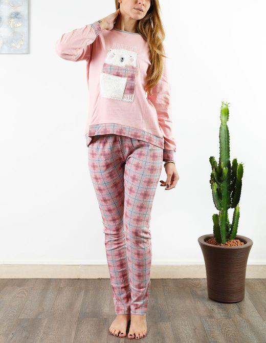 oaoa-pigiama-donna-oa1727-rosa