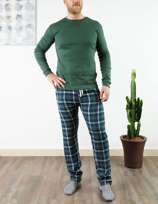 oaoa-pigiama-uomo-oa1742-verdone
