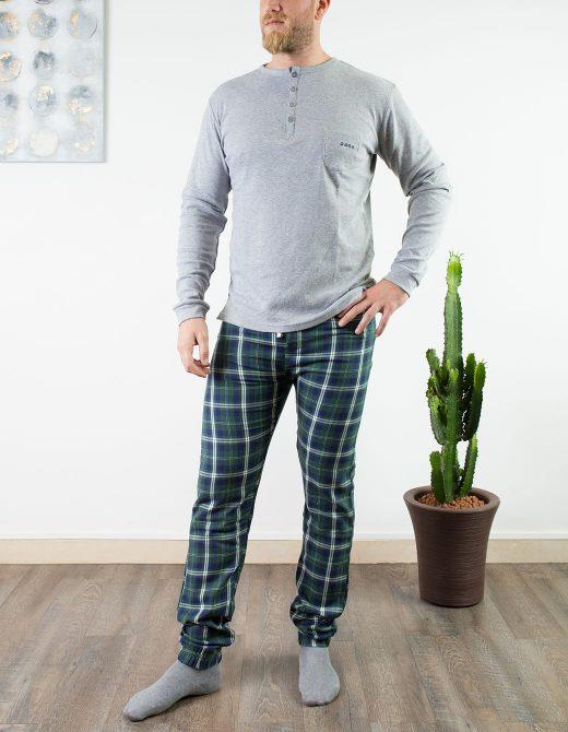 oaoa-pigiama-uomo-oa1744-verdone