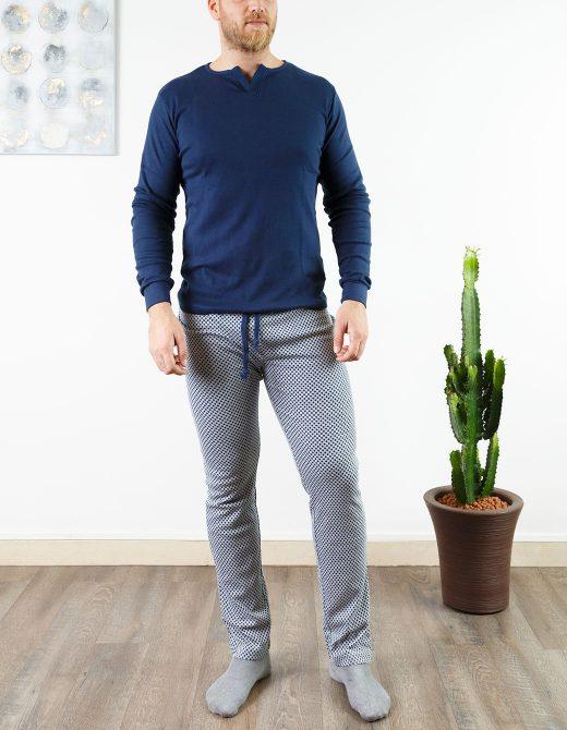 oaoa-pigiama-uomo-oa1745-indaco